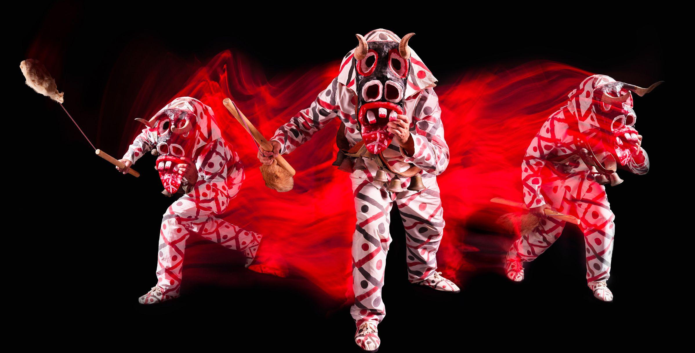 Exposición BUCHES & DIABLETES. El Carnaval Tradicional de Lanzarote