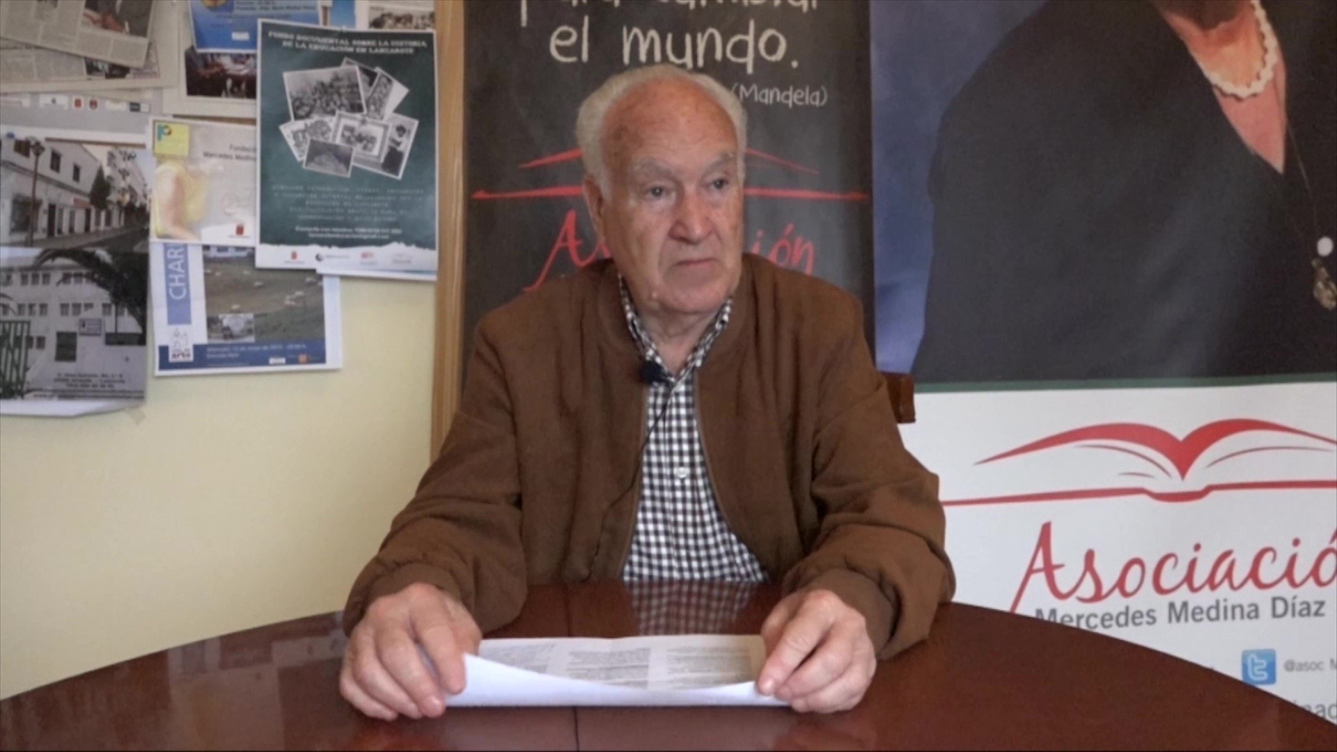 Entrevista a José Domingo Reyes Espino (2017)