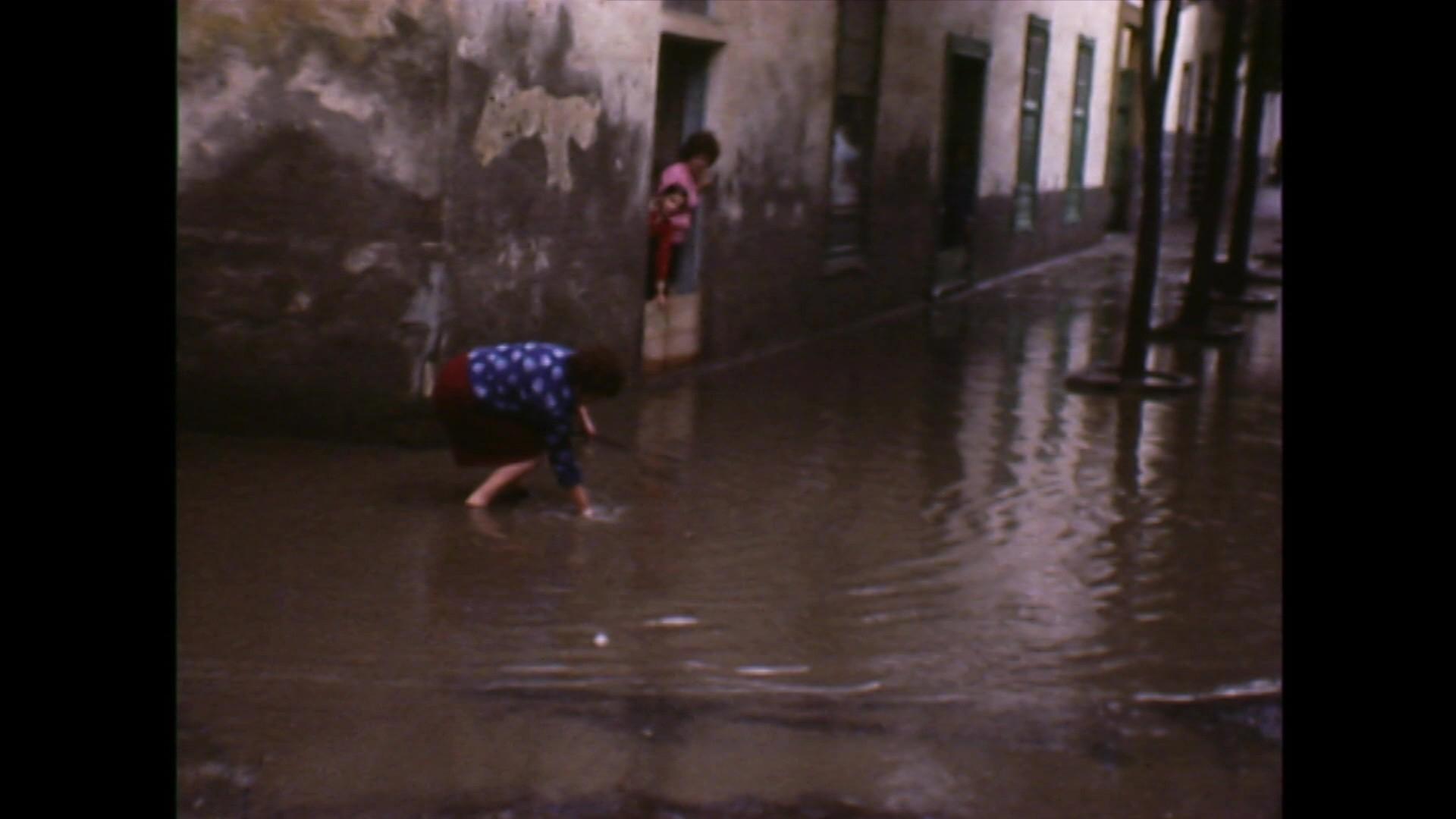 Inundaciones en Arrecife (c. 1975)