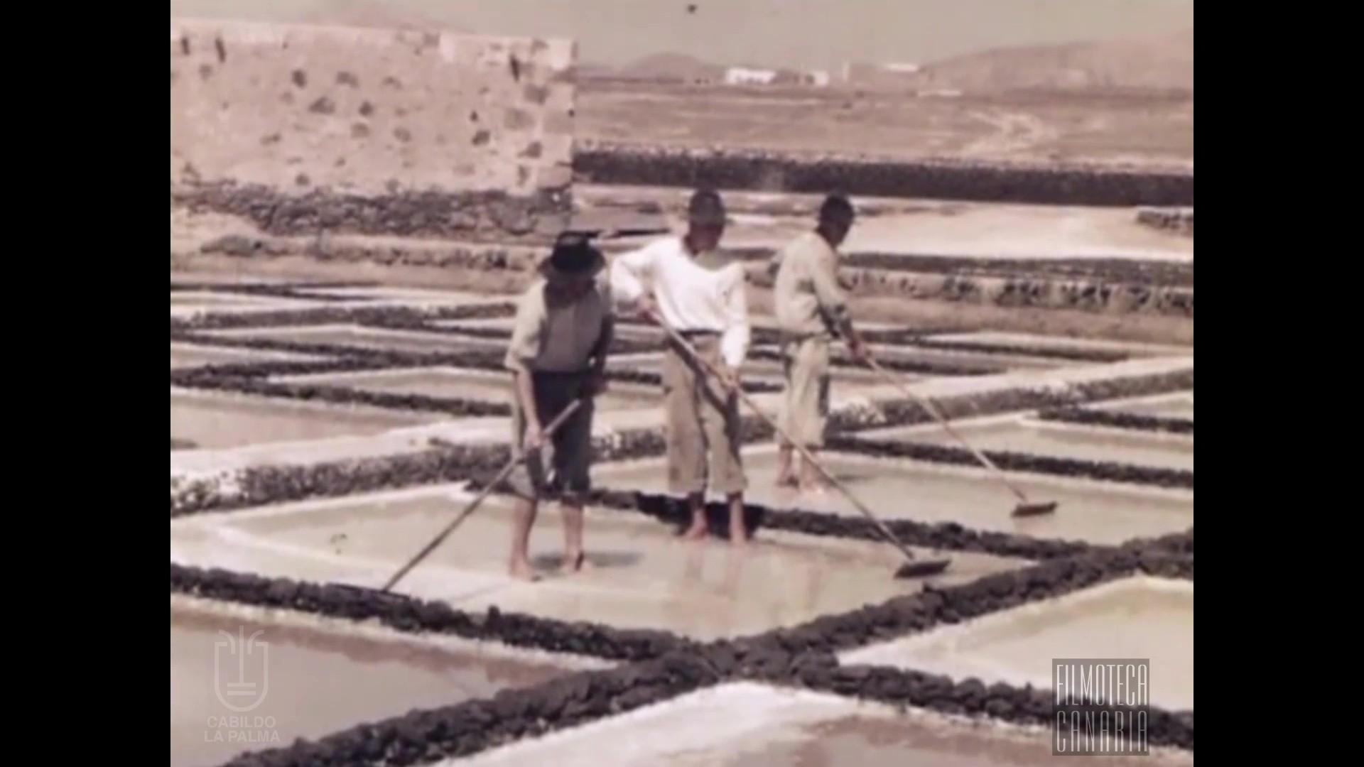 Filmaciones de Jan Blaauboer en Lanzarote (1952-1954)