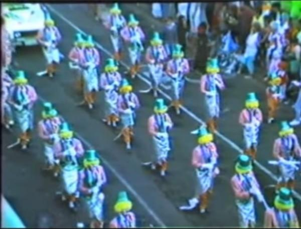 Coso del carnaval de Arrecife 1987