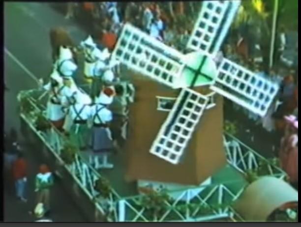 Coso del carnaval de Arrecife 1988