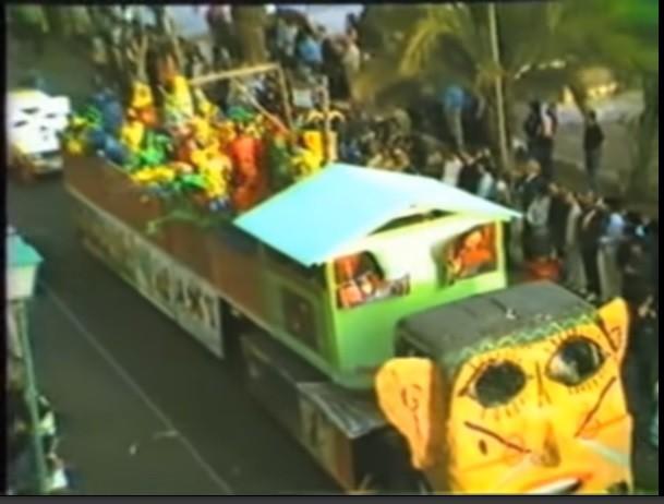 Coso del carnaval de Arrecife 1989