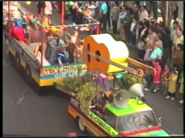 Coso del carnaval de Arrecife 1990