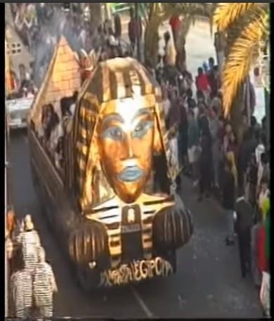 Coso del carnaval de Arrecife 1991