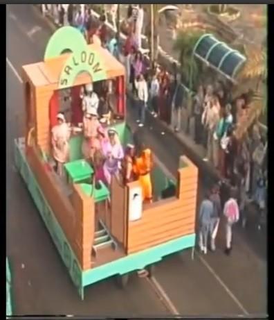 Coso del carnaval de Arrecife 1992