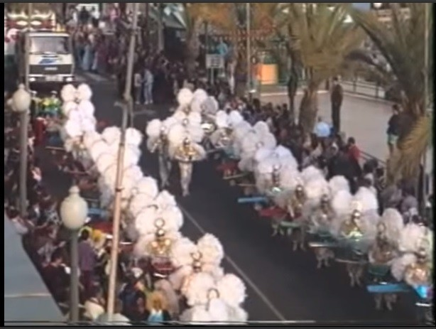 Coso del carnaval de Arrecife 1993