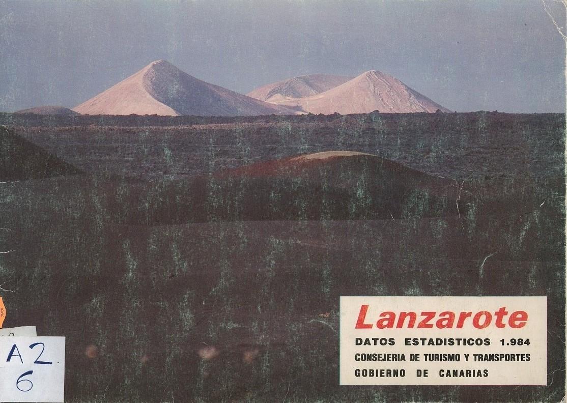 Lanzarote. Datos estadísticos 1984
