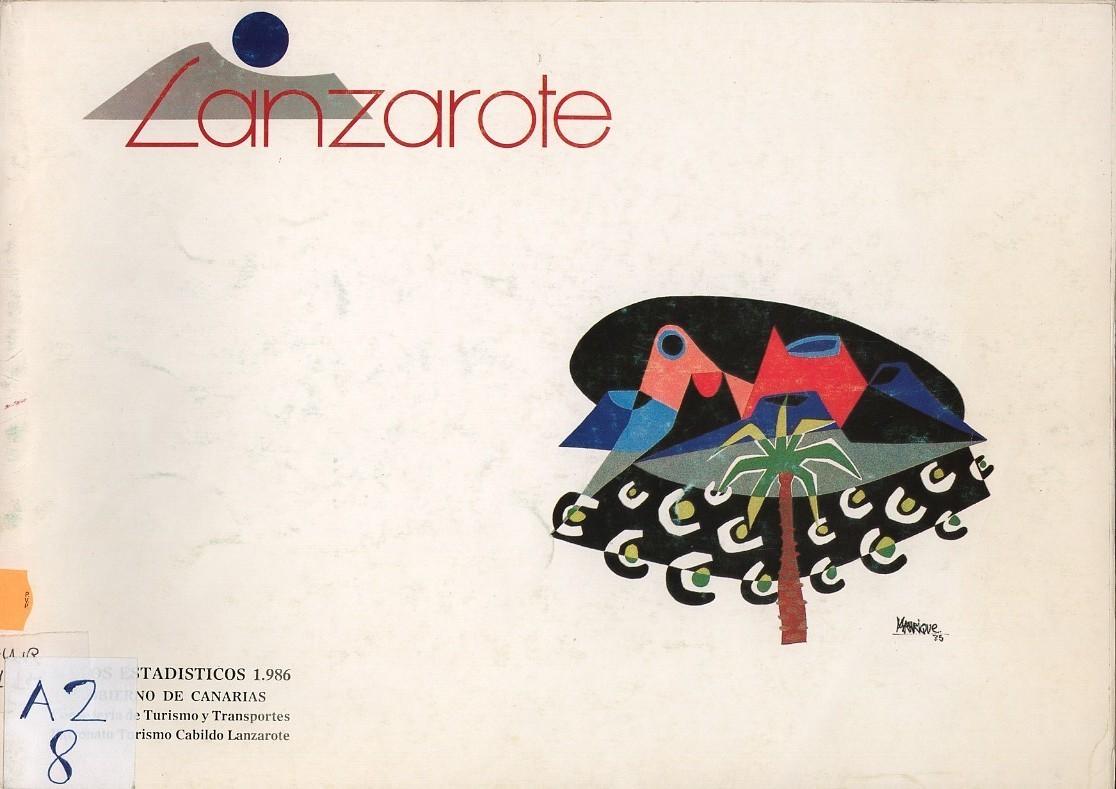 Lanzarote. Datos estadísticos 1986