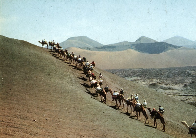 Ruta de los camellos