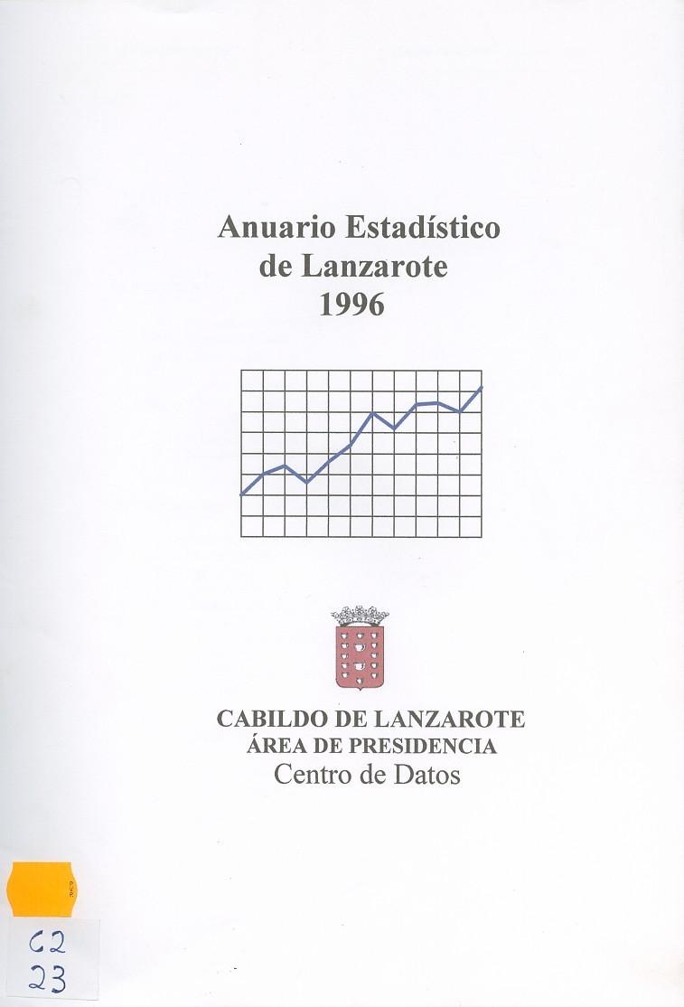 Anuario Estadístico de Lanzarote 1996