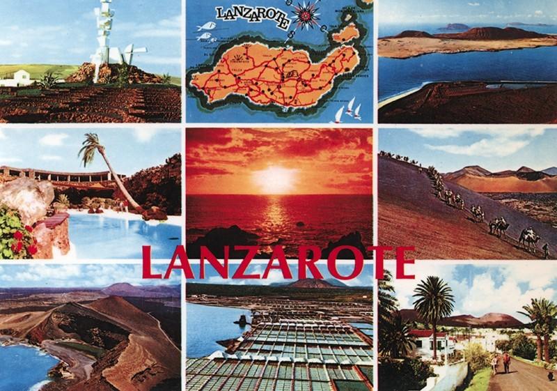 Postal Lanzarote VIII