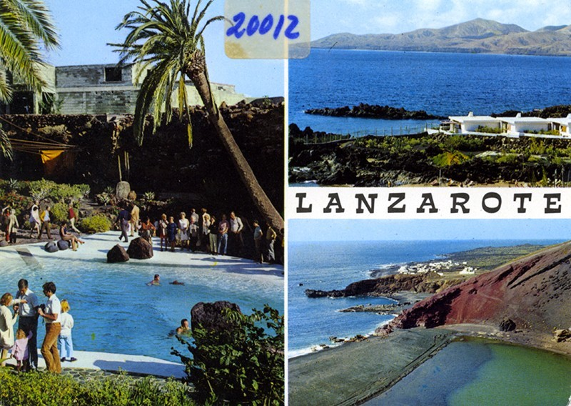 Postal Lanzarote XII