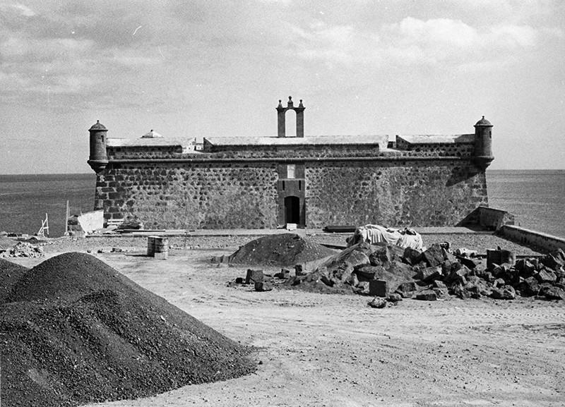 Obras de reforma del Castillo de San José-MIAC II