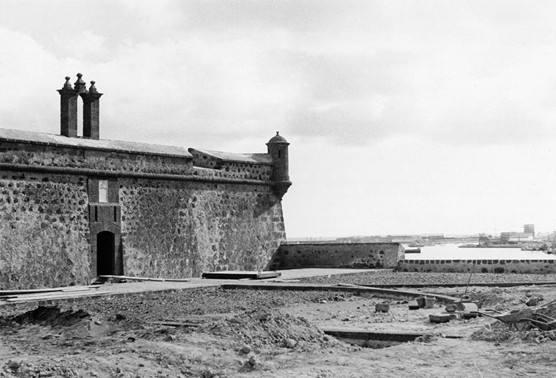 Obras de reforma del Castillo de San José-MIAC III