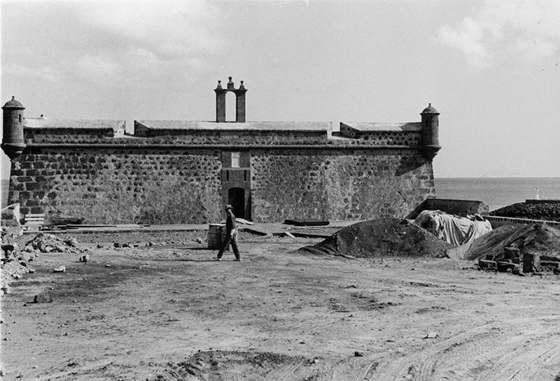 Obras de reforma del Castillo de San José-MIAC IV