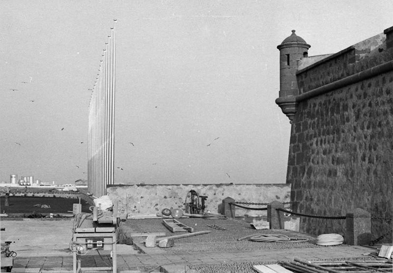 Obras de reforma del Castillo de San José-MIAC X