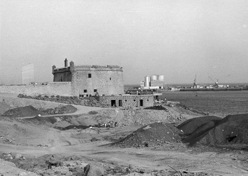 Obras de reforma del Castillo de San José-MIAC XI