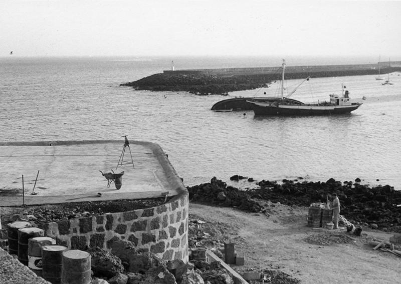 Obras de reforma del Castillo de San José-MIAC XII