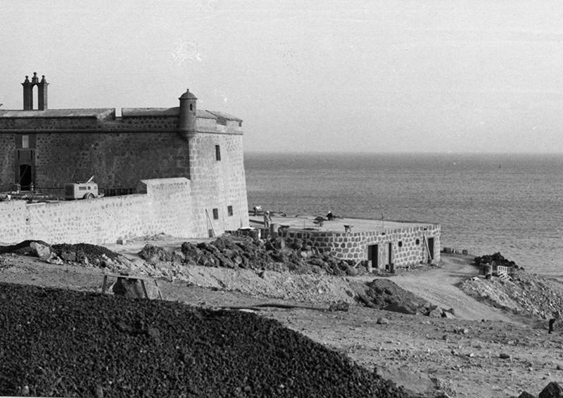 Obras de reforma del Castillo de San José-MIAC XIII