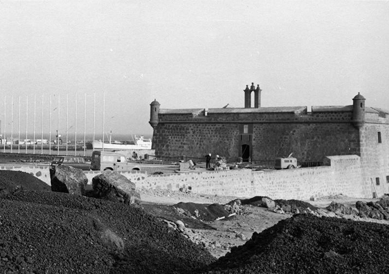 Obras de reforma del Castillo de San José-MIAC XV
