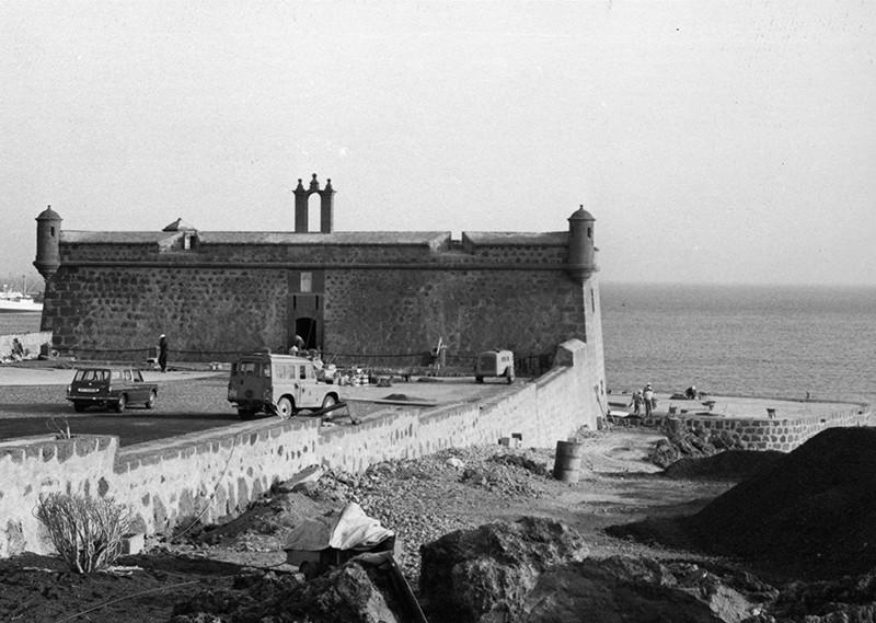 Obras de reforma del Castillo de San José-MIAC XVII