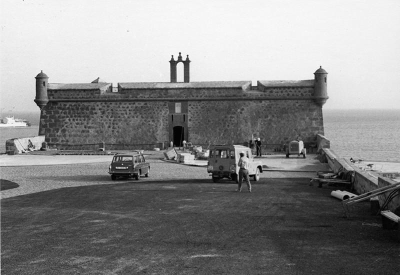 Obras de reforma del Castillo de San José-MIAC XVIII