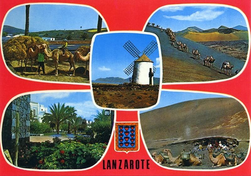 Postal Lanzarote XIV