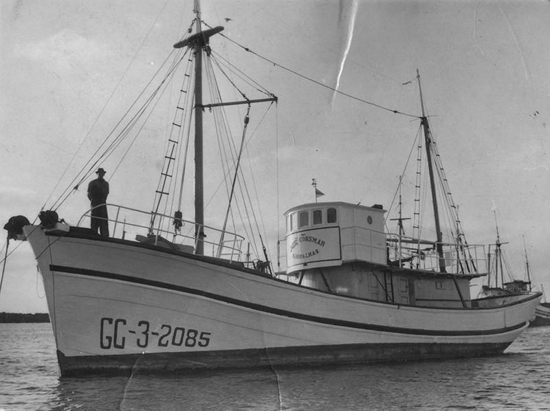 Barco pesquero (GC-3-2085)
