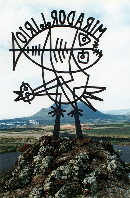 Escultura del Mirador del Río I