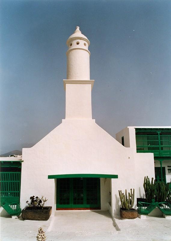 Chimenea de la Casa-Museo del Campesino