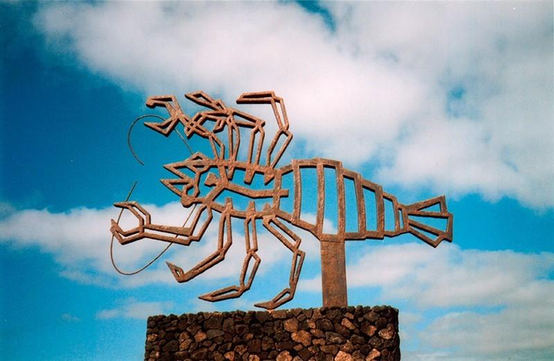 Escultura de los Jameos del Agua