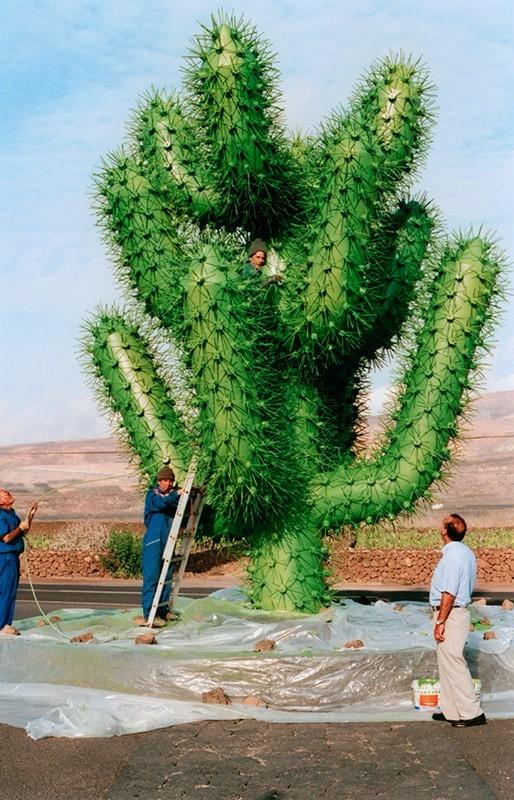 Escultura del Jardín de Cactus
