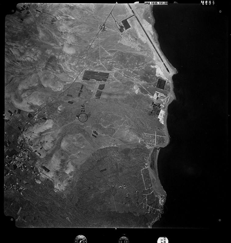 Aérea de la zona de Matagorda 1971