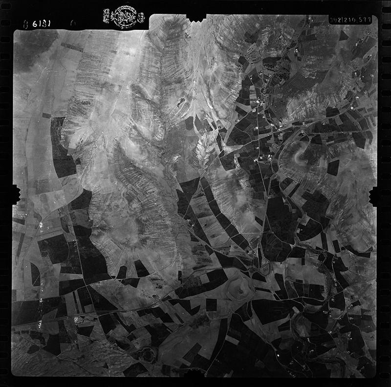 Fotografía aérea de Los Valles en 1955 IV