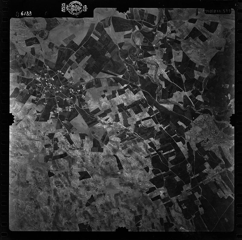 Fotografía aérea de El Mojón y Teseguite en 1955 II