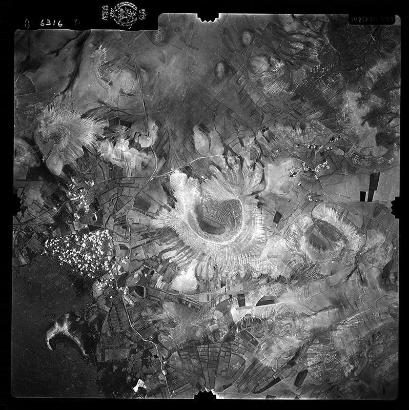 Fotografía aérea de Uga en 1955 I