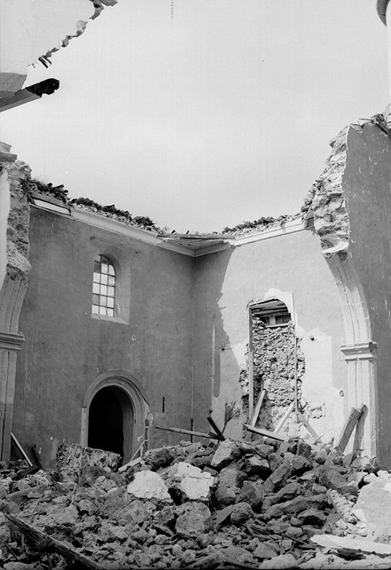 Derrumbre de la iglesia de Haría I