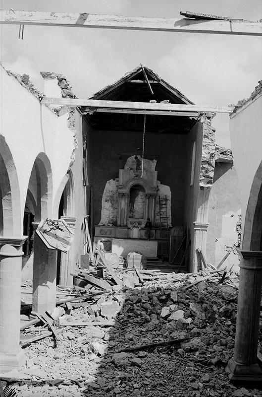 Derrumbe de la iglesia de Haría III