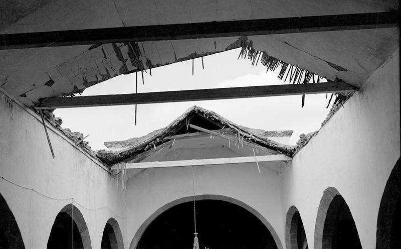 Derrumbe de la iglesia de Haría VI