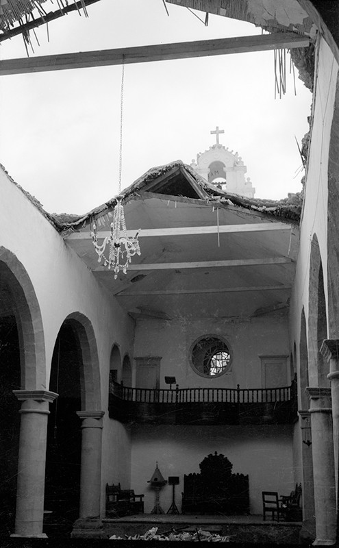 Derrumbe de la iglesia de Haría VII