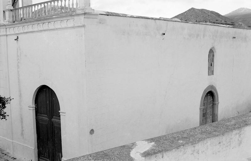 Derrumbe de la iglesia de Haría VIII