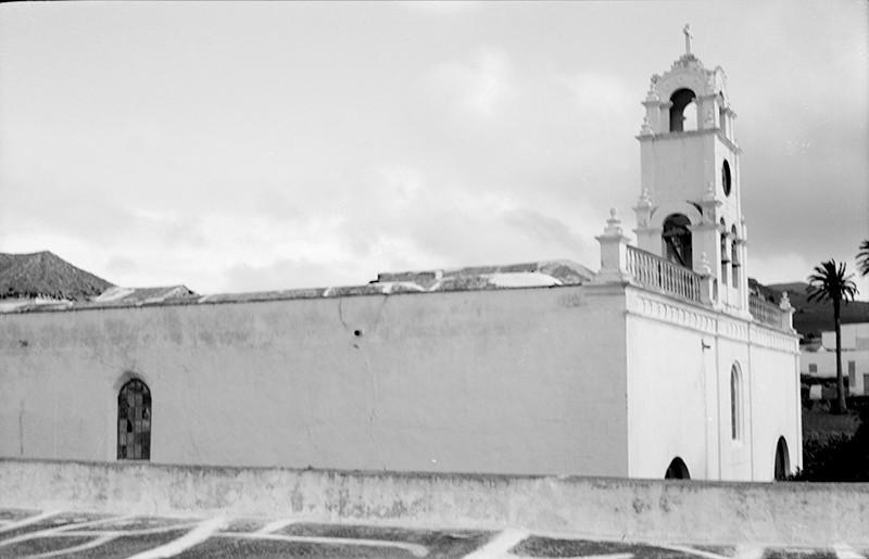 Derrumbe de la iglesia de Haría IX