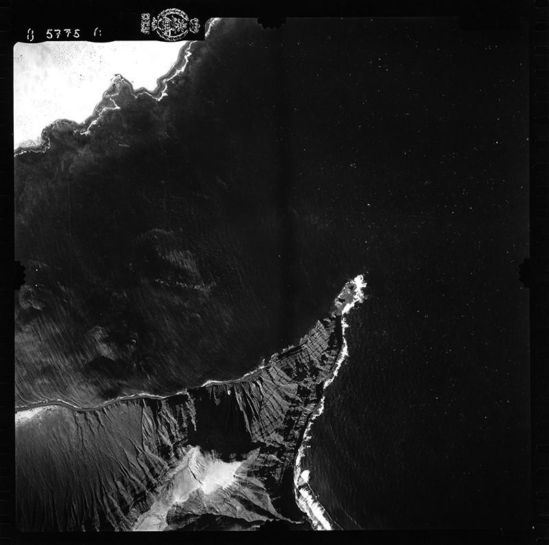Fotografía aérea de Órzola en 1954 I