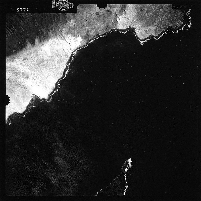 Fotografía aérea de Pedro Barba en 1954