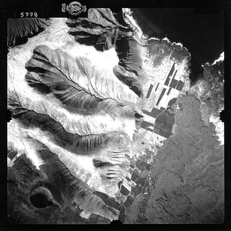 Fotografía aérea de Órzola en 1954 IV