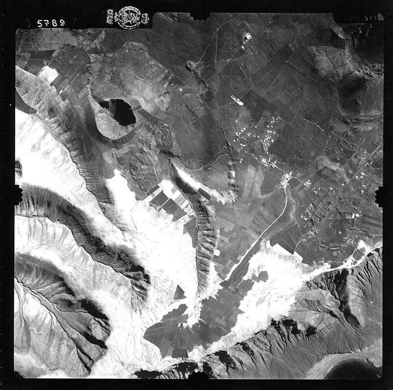 Fotografía aérea de Ye en 1954 II