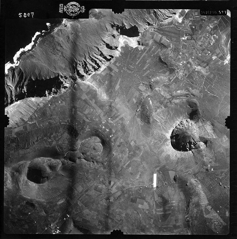 Fotografía aérea de Guinate en 1954 I