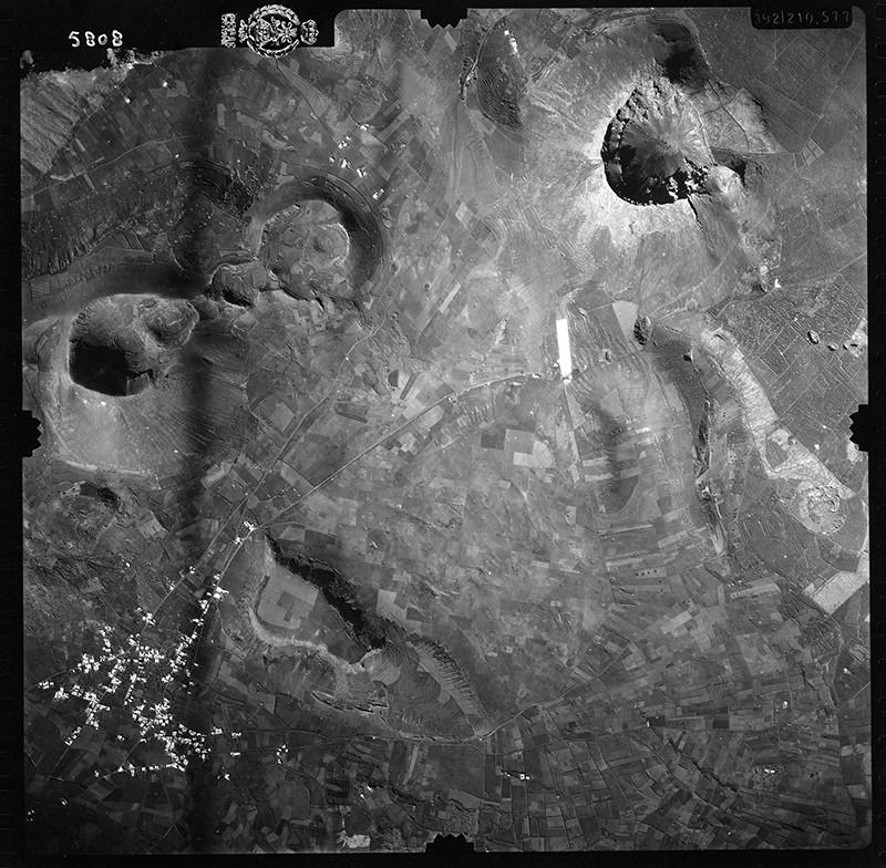 Fotografía aérea de Máguez en 1954 I