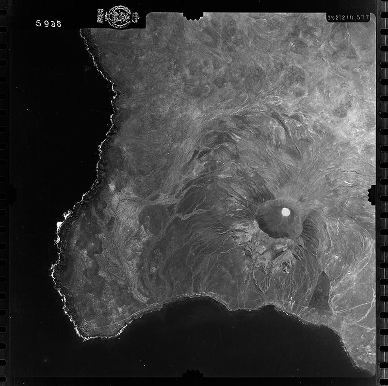 Fotografía aérea de Pechiguera en 1954 II